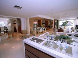 Foto do Apartamento-apartamentos de 266m² com 4 dormitórios, 5 vagas, 6 banheiros.