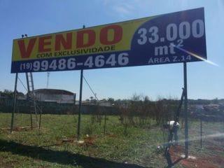 Foto do Área-Área à venda, 33000 m² por R$ 5.000.000,00 + saldo fin direto - Sumaré - Sumaré/SP