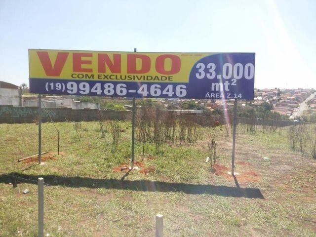 Foto do Área - Área à venda, 33000 m² por R$ 5.000.000,00 + saldo fin direto - Sumaré - Sumaré/SP | DCOELHO IMÓVEIS