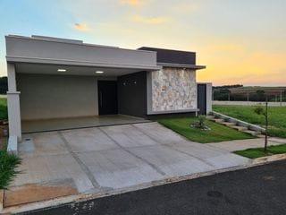 Foto do Casa-Casa nova à venda, no condomínio Residencial Villa de León, Piratininga, SP, casa completa com 3 suítes incríveis.