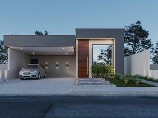Foto do Casa-Casa nova à venda, em fase de acabamento no condomínio MORADA DO SOL, Piratininga, SP. venha se surpreender!