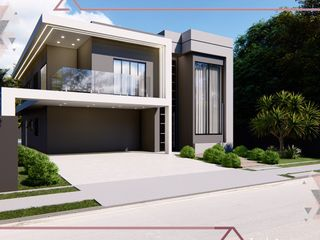 Foto do Casa-Casa à venda com piscina e área gourmet, 4 suítes, Condomínio Residencial Shamballa II, Atibaia, SP