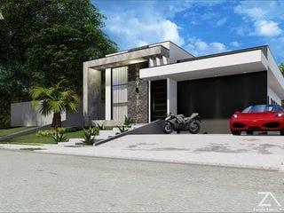 Foto do Casa-Casa à venda com piscina e área gourmet, 3 suítes, Condomínio Residencial Shamballa III, Atibaia, SP
