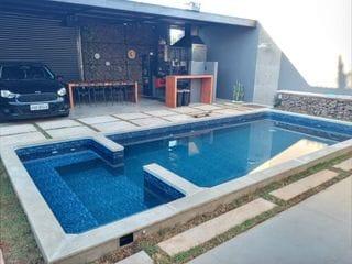 Foto do Casa-Casa à venda no condomínio MORADA DO SOL, Piratininga, SP, 3 suítes ,completa.