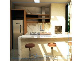 Foto do Casa-Casa Triplex 3  quartos, sendo 1 suíte  + escritório  e espaço gourmet no Terraço no Bairro  no esplanada do parque a poucos mts da Av. Luiz Eduardo