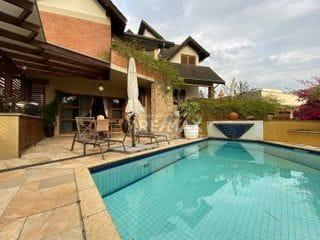 Foto do Casa-Casa com 3 dormitórios para alugar, 312 m² por R$ 12.500,00/mês - Alphaville - Santana de Parnaíba/SP