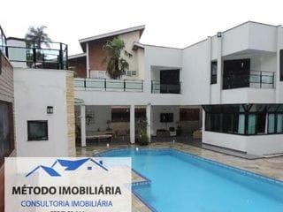 Foto do Casa-Casa para Venda em Santana de Parnaíba, ALPHAVILLE, 4 dormitórios, 4 suítes, 6 banheiros, 6 vagas