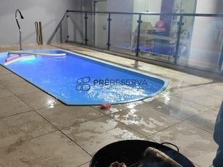 Foto do Casa-Ótima casa à VENDA com 03 quartos com 03 banheiros na casa, escritório, piscina ,área gourmet com local para loja ou comercio Bairro da Vila Maria em Botucatu.