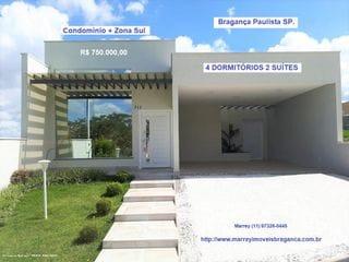 Foto do Casa-Casa à venda, Condomínio Mirante de Bragança, Bragança Paulista.