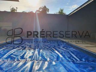 Foto do Casa-Residência impecável com 03 suítes e piscina no Condomínio Morada Do Sol em Piratininga-SP, região de Bauru-SP