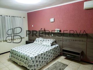 Foto do Casa-Excelente casa com 4 dormitórios sendo 2 suítes, 3 salas à venda, Jardim Santana, Bauru, SP. Pré Reserva Inteligência Imobiliária.