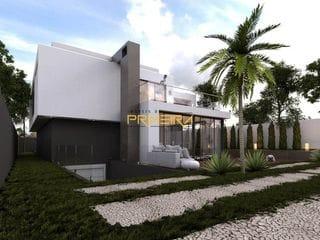 Foto do Casa-Casa à venda de alto padrão com amplo terreno 3 suítes 4 vagas no Vista Alegre, Curitiba, PR