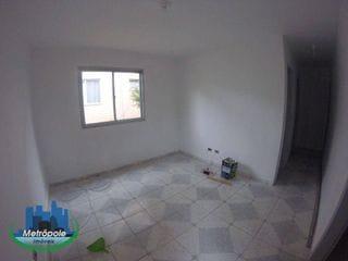 Foto do Casa-Casa com 2 dormitórios para alugar, 62 m² por R$ 1.500,00/mês - Parque Flamengo - Guarulhos/SP