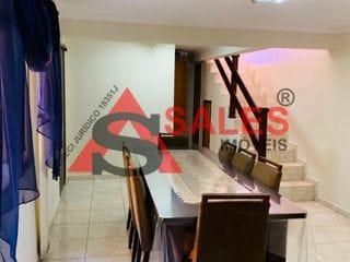 Foto do Casa-Casa à venda R$ 750.000 com 2 dormitórios, 2 salas, cozinha, 2 vagas, entrada lateral,  Vila Firmiano Pinto, São Paulo, SP