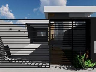 Foto do Casa-Excelente casa geminada no Jd. Portal de Versalhes II, sendo 02 dormitórios, 01  banheiro social,  sala em 02 ambientes com pé direito duplo