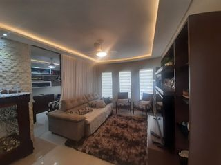 Foto do Casa-Casa Térrea à venda, Condomínio Vale do Arvoredo - 3 Quartos sendo 1 suíte master - Completa em armários - Churrasqueira - Quintal - Lavabo - 2 Garagens