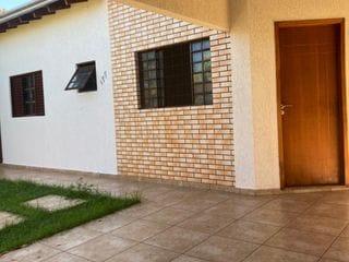 Foto do Casa-Casa Térrea à venda, Jd Alpes -3 quartos sendo 1 suíte -Quintal - 3Vagas de Garagem -Armário na Cozinha