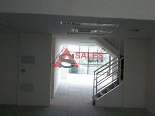 Foto do Conjunto-Conjunto comercial novo, primeira locação. Possui: escritórios, banheiros, mezaninos, ar condicionado, piso elevado, varanda, 6 vagas de garagem.