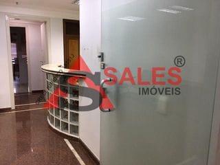 Foto do Conjunto-Ótimo conjunto comercial 132m², com 3 salas germinadas , 2 banheiros, recepção, escritório, sala de reunião, localizada no bairro de Perdizes.