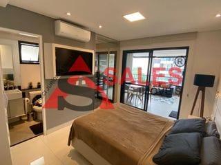 Foto do Flat-Studio com 1 dormitório à venda, 40 m² por R$ 800.000,00 localizado na Rua Casa do Ator - Vila Olímpia, São Paulo, SP