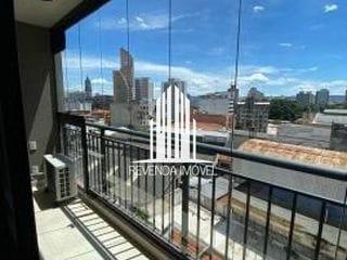 Foto do Flat-Apartamento Loft - 26,00m² - 1 dormitório - 1 banheiro - Centro