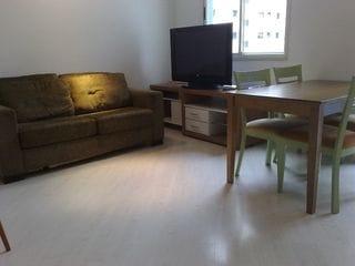 Foto do Flat-Flat para venda, 2 dormitórios , 1 vaga de garagem em Moema