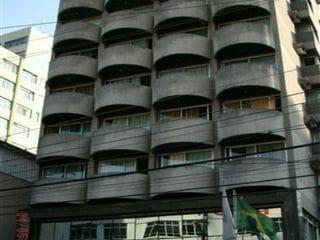 Foto do Flat-Flats para locação no bairro Itaim Bibi 1 dormitório 1 vaga no edifício Ginza Plaza