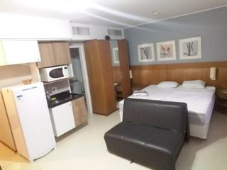 Foto do Flat-Flat em moema para alugar 1 quarto 1 garagem mobiliado em são paulo sp