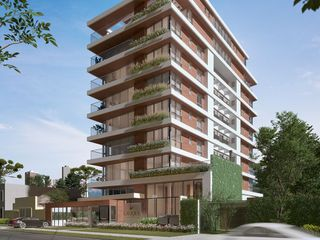Foto do Apartamento-Apartamento de 3 quartos, sendo 3 suítes, lavabo, sacada com churrasqueira, 153 m² privativos, 3 vagas, no Agua Verde - Lançamento na planta