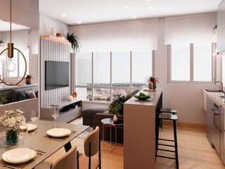 Foto do Lançamento-Apartamento à venda, Jardim Villagio Ghiraldelli, Hortolândia - SP | Quinta do Lago - Fase 1