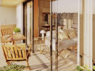 Foto do Apartamento-Apartamento de 2 quartos, 1 suíte, sacada com churrasqueira, 61 m², 1 vaga de garagem em localização privilegiada no Água Verde em Curitiba