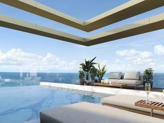 Foto do Cobertura-Cobertura Duplex de Luxo a venda com 5 Suítes, 435 m² privativos, 4 vagas, de frente para o mar na Praia Brava em Itajaí