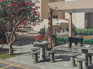 Foto do Lançamento-New Club- Lançamento Apartamento com 2 Dormitórios à venda, Parque Guarani, Joinville, SC