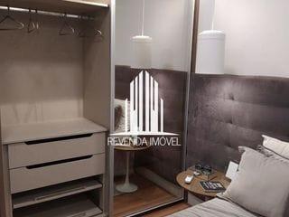 Foto do Apartamento-Apartamento com 2 dormitórios, 1 suíte e duas vagas na Chácara Santo Antônio