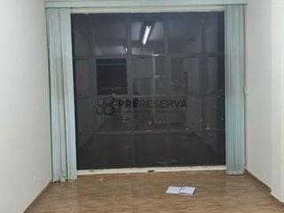 Foto do Sala-Excelente sala comercial para locação com  32m² no calçadão da Batista, Centro, Bauru/SP. Pré Reserva Inteligência Imobiliária