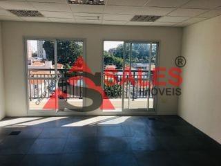 Foto do Sala-Sala para Locação, 74 metros, 2 salas, sacada piso elevado,  2 vagas por R$ 2.500,00 na Rua Santa Cruz, 722 na Vila Mariana São Paulo