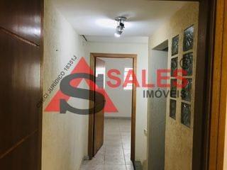 Foto do Salão-Sobrado comercial para alugar,  com 125 m², 6 salas, ar condicionado, Metro, por R$ 4000,00 em Fiminiano Pinto São Paulo