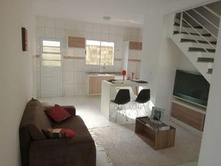 Foto do Sobrado-Sobrado com 2 Dorms 1 vaga de garagem, portão eletrônico , ambiente familiar, à venda, Chácara Solar, Santana de Parnaíba, São Paulo