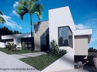 Perspectiva do Sobrado-Casa semi terrea no Residencial New Ville, 3 Suítes, quintal com piscina e gourmet com vidro no  Suru, Santana de Parnaíba, SP