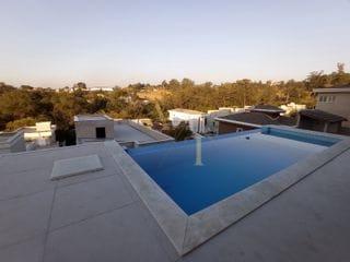 Foto do Sobrado-Sobrado à venda com 3 suítes e vista panorâmica com piscina de borda infinita no residencial New Ville, Suru, Santana de Parnaíba, SP