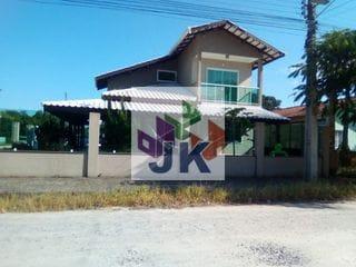 Foto do Sobrado-MAGNÍFICO SOBRADO DE ESQUINA  RECÉM CONSTRUÍDO EM ALTO PADRÃO NO BALNEÁRIO SANTA CLARA EM ITAPOÁ SC