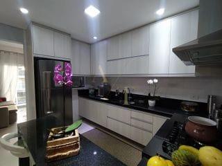 Foto do Sobrado-Sobrado à venda, três suítes, varanda gourmet e picina no New Ville em  Santana de Parnaíba, SP