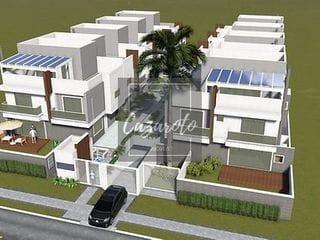 Foto do Sobrado-Sobrado em Condomínio Quadriplex com 03 Suítes, 3 Vagas no Subsolo, Ático com Terraço Descoberto, com 322.68m² no Mercês