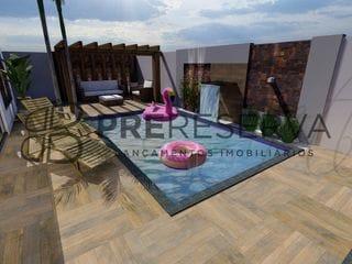 Foto do Sobrado-Maravilhoso Sobrado com 03 suítes sendo 01 Master à venda no Residencial Villa de Leon, Centro de Piratininga, SP. Região de Bauru-SP