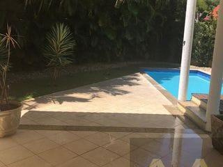 Foto do Sobrado-Lindo Sobrado de Esquina para locação em condominio fechado em  Alphaville, Santana de Parnaíba, SP com Segurança 24 horas
