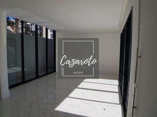 Foto do Sobrado-Residencia em Condomínio a Venda Nova e Pronta para Morar no Bairro Champagnat Com 3 Dormitórios, 3 Vagas 4 pavimentos com 225M² com Terraço Descoberto