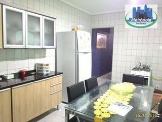 Foto do Sobrado-Sobrado  residencial à venda, Parque Primavera, Guarulhos.
