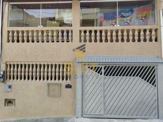 Foto do Sobrado-BAIXOU 31 MIL REAIS!!! Sobrado 3 Dorm, 1 Vaga, Sala, Cozinha, Lavabo, Área Goumert com Lavanderia no Recanto Phrynea, Barueri, SP