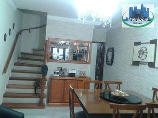 Foto do Sobrado-Sobrado  residencial à venda, Vila Nossa Senhora de Fátima, Guarulhos.
