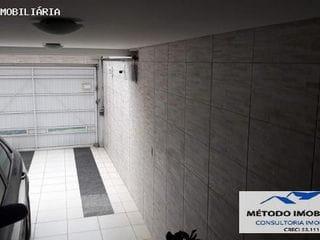 Foto do Sobrado-Sobrado para Venda em Santo André, Jardim, 3 dormitórios, 3 suítes, 4 banheiros, 4 vagas